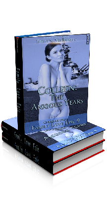 3D Ebook Cover - Colleen: The Anxious Years - Family Love Epic 9 - by Steven Michaels
