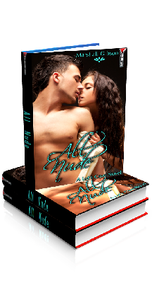 3D Ebook Cover - All Nude - Jasmin's Tingle No.1 - by Marshall Gibson