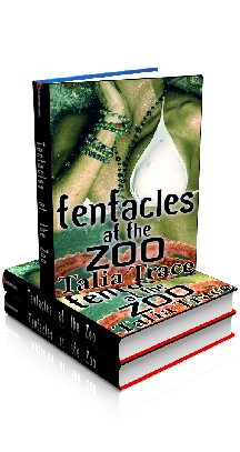 3D Ebook Cover - Tentacles at the Zoo - by Talia Trace