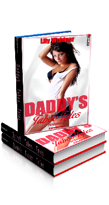 3D Ebook Cover - Daddy's Taboo Tales - Volume 1 Bundle - by Lily Weidner