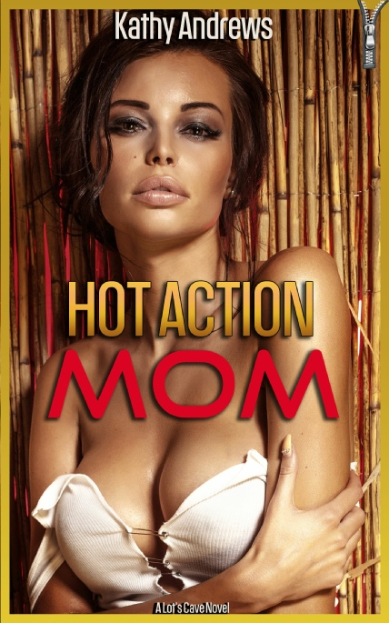 Book Cover Photo: Hot Action Mom ~ DN-440 Diary Novel (1985) ~ by Kathy Andrews