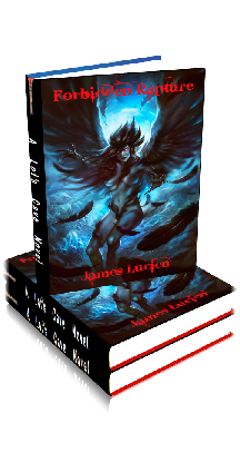 3D Ebook Cover - Forbidden Rapture - by James Lucien