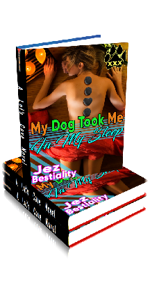 3D Ebook Cover - My Dog Took Me In My Sleep - by Jez Bestiality