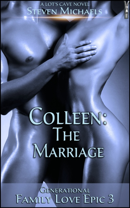 Book Cover Photo: Colleen: The Marriage - Family Love Epic 3 - by Steven Michaels