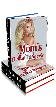 3D Ebook Cover - Mom's Bridal Lingerie - by R.M.Dexter