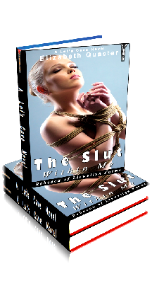 3D Ebook Cover - The Slut Within Me - Rebecca of Llewellyn Farm - by Elizabeth Quaster