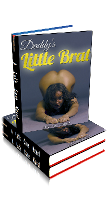 Book Cover Photo: Daddy's Little Brat - by Justin Luxure