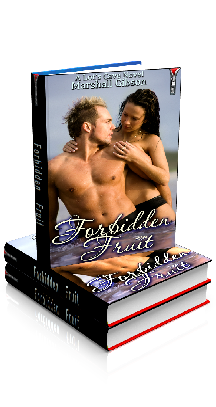 3D Ebook Cover - Forbidden Fruit - Jasmin's Tingle No.8 - by Marshall Gibson