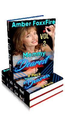 3D Ebook Cover - Mommy Dearest 8-Pack - Volume No.2 - by Amber FoxxFire