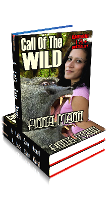 3D Ebook Cover - Call Of The Wild ~ by Anna Mann