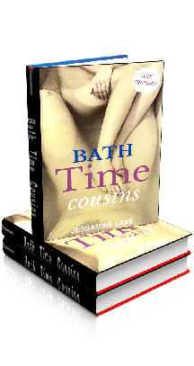 3D Ebook Cover - Bath Time Cousins - Tales of Taboo No.1 - by Jessamine Lane