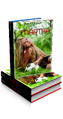 3D Ebook Cover - Martha, by Jeff DeLuna