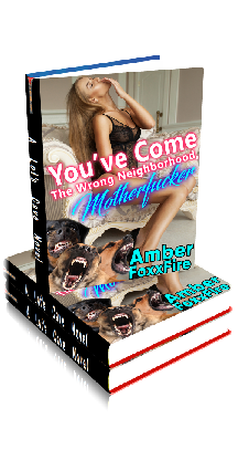 3D Ebook Cover - You've Come To The Wrong Neighborhood, Motherfucker! - by Amber FoxxFire