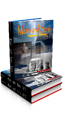 3D Ebook Cover - Moms and Sons - Volume No.3 - by Baron LeSade
