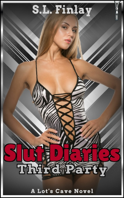Book Cover Photo: Slut Diaries: Third Party ~ by S.L. Finlay