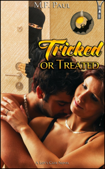 Book Cover Photo: Tricked or Treated, by M.F. Paul