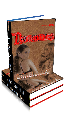 3D Ebook Cover - Daughters - by Bakerman
