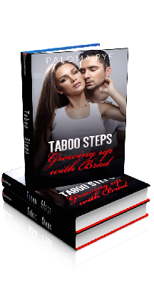 3D Ebook Cover - Taboo Steps: Growing up with Brad - by Paloma Pye