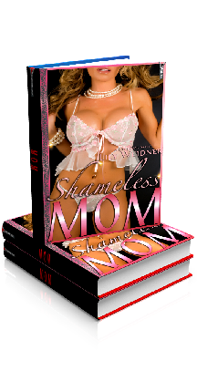 3D Ebook Cover - Shameless MOM - MOM Naughty Tales No.8 - by Lily Weidner