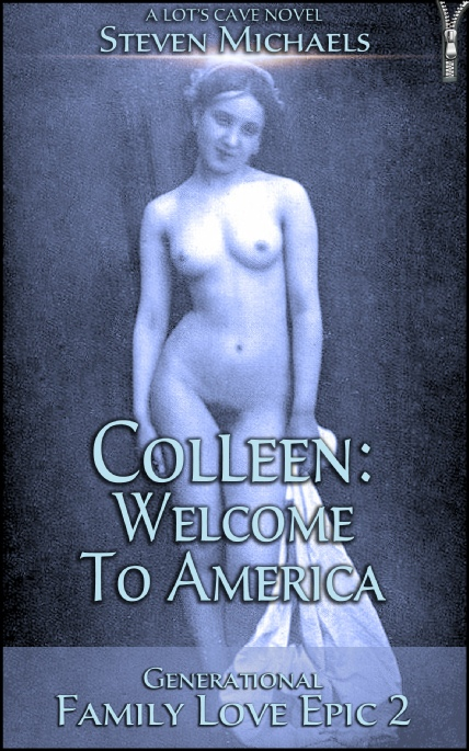 Book Cover Photo: Colleen: Welcome to America - Family Love Epic 2 - by Steven Michaels